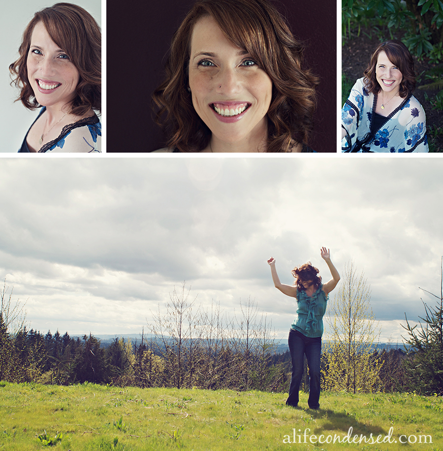 Gorgeous Grinning Girl :: Portland, OR Headshot Photographer