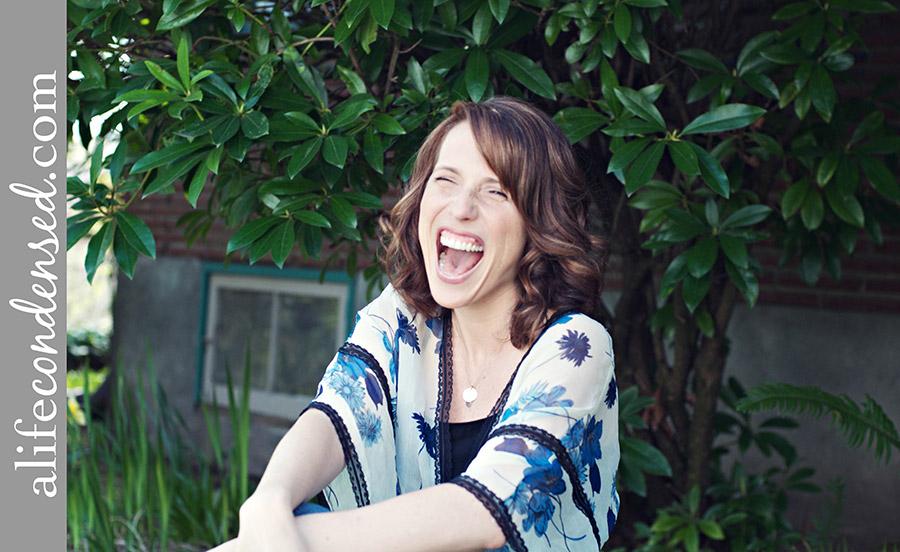 Gorgeous Grinning Author :: Portland, Oregon Headshot Photographer