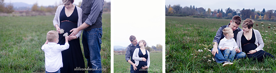 Forest Grove Oregon Maternity and Family Photographer