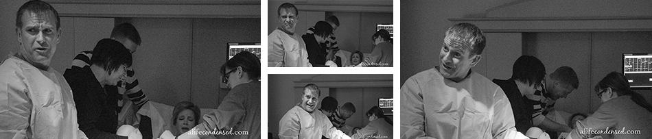 Portland, Oregon Hospital Birth Photographer