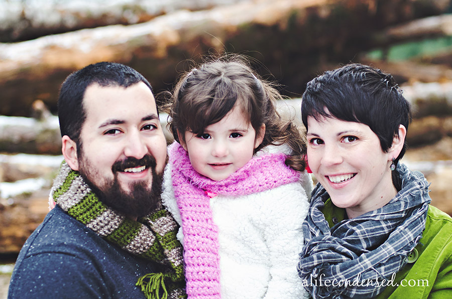 Holiday Happiness :: Gaston, Oregon Family Photographer