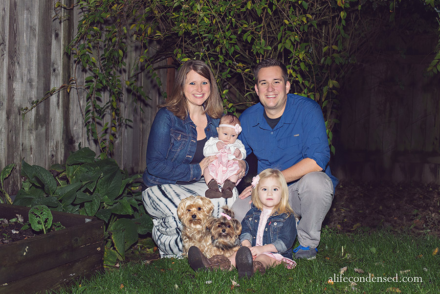 Evening Family Fun :: Beaverton, Oregon Family Photographer