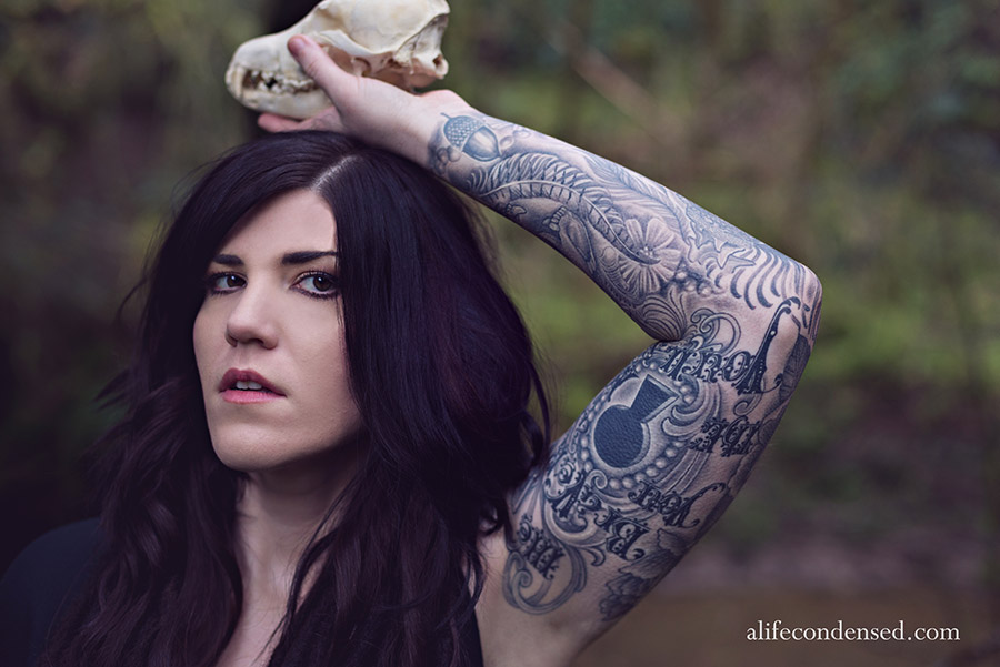 Tattooed Lady :: Forest Grove, Oregon Portrait Photographer